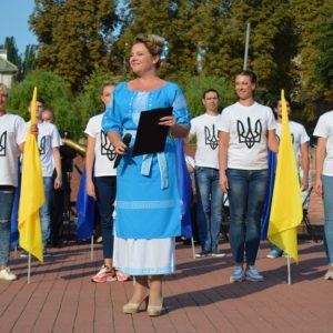 Гідно зустріли річницю Незалежності України