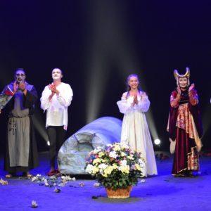 Гастролі Луганського обласного академічного українського музично-драматичного театру